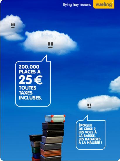 Vueling: 200.000 places à 25€