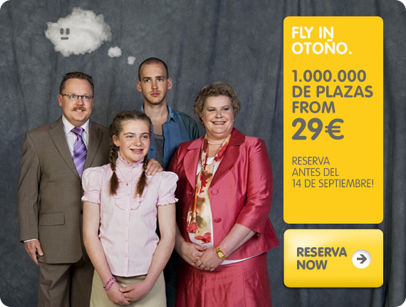 Fly in verano, 1.000.000 de plazas from 29€