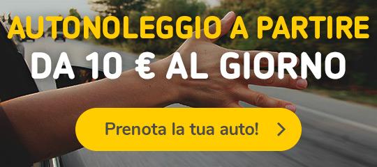 Autonoleggio a partire da 10€ giorno